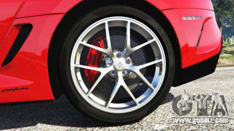 Ferrari 599 GTO [replace] for GTA 5