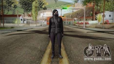 GTA 5 Heists DLC Female Skin 1 for GTA San Andreas second screenshot