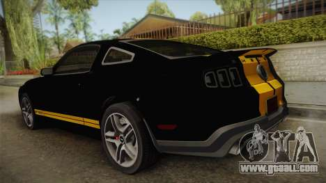Ford Mustang GT500 for GTA San Andreas