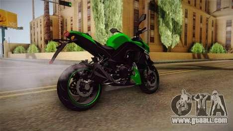 Kawasaki Z1000 for GTA San Andreas back left view