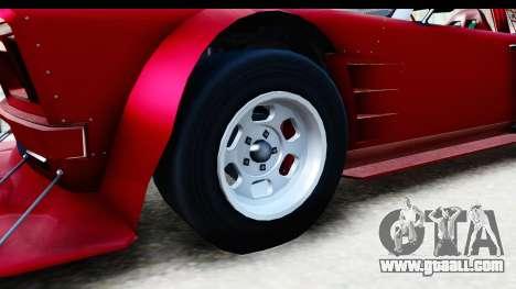 GTA 5 Declasse Tampa Drift IVF for GTA San Andreas back view