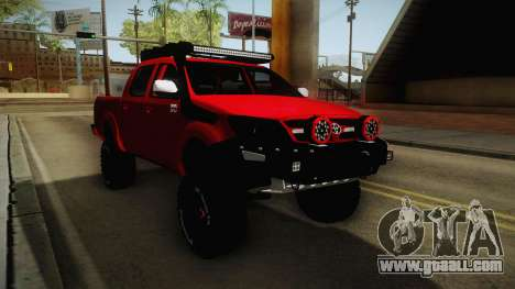 Toyota Hilux 2010 Venezolana de Off Road for GTA San Andreas right view
