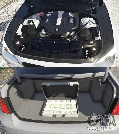 GTA 5 BMW 760Li (F02) Lumma CLR 750 [add-on] right side view