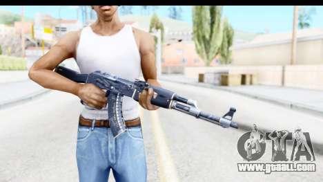 AK-47 Elite Build for GTA San Andreas third screenshot