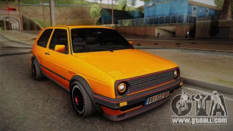Volkswagen Golf Mk2 GTI .ILchE STYLE. for GTA San Andreas