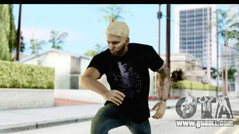 Blonde Messi for GTA San Andreas