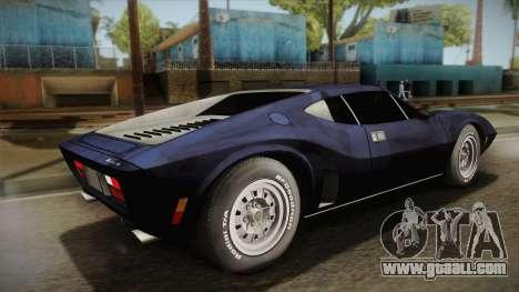 AMC AMX 3 39 1970 for GTA San Andreas left view