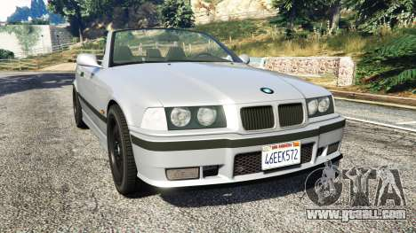 BMW 328i (E36) M-Sport [replace] for GTA 5