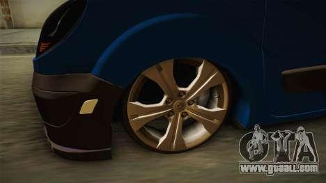 Renault Kangoo for GTA San Andreas back view
