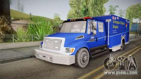 International Terrastar Ambulance 2014 for GTA San Andreas