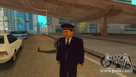 Karpov v2 for GTA San Andreas second screenshot