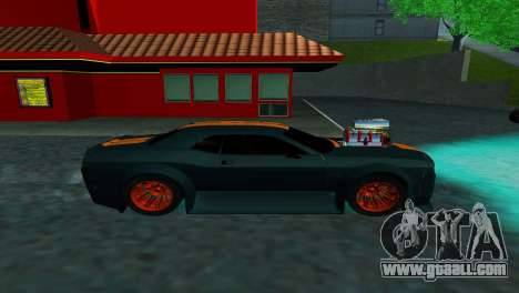 DODGE CHALLENGER SRT8 POWER for GTA San Andreas left view