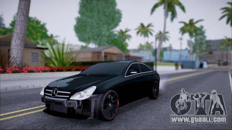 Mercedes-Benz Cls 630 for GTA San Andreas inner view