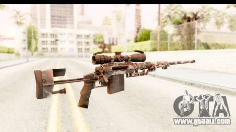 Cheytac M200 Intervention Skull for GTA San Andreas second screenshot