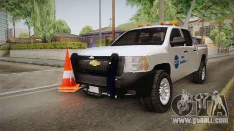 Chevrolet Silverado 2009 SA DOT for GTA San Andreas right view