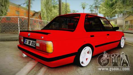 BMW M3 E30 Sedan for GTA San Andreas left view
