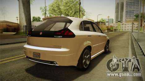 GTA 5 Emperor Habanero IVF for GTA San Andreas back left view