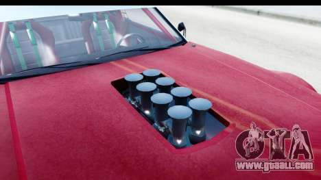 GTA 5 Declasse Tampa Drift IVF for GTA San Andreas inner view