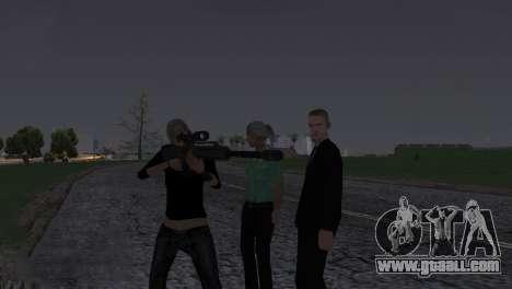 Heavysniper rifle for GTA San Andreas seventh screenshot
