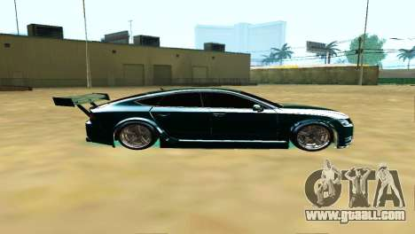 AUDI A7 SPORTS for GTA San Andreas left view