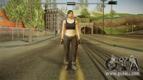 GTA 5 Heists DLC Female Skin 2 for GTA San Andreas second screenshot