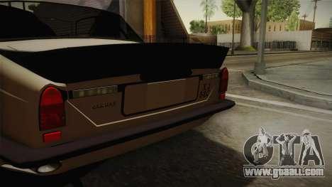 Jaguar Broadspeed XJC for GTA San Andreas back left view