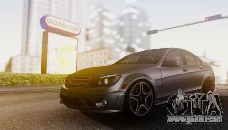 Mercedes-Benz C63 AMG w204 for GTA San Andreas