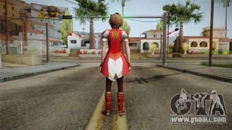 Dynasty Warriors 8 - Sun ShangXiang Remade for GTA San Andreas third screenshot