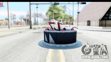 Han Farhan Cake Grenade for GTA San Andreas second screenshot