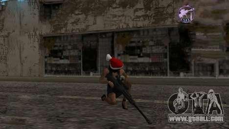 Heavysniper rifle for GTA San Andreas second screenshot