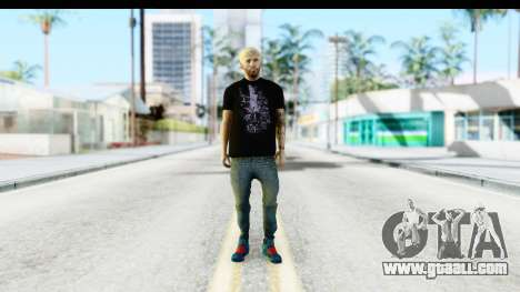 Blonde Messi for GTA San Andreas