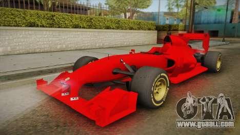 Lotus F1 T125 for GTA San Andreas