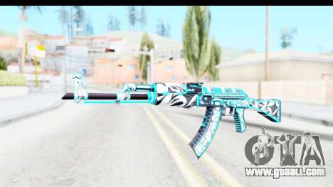 AK-47 Frontside Misty for GTA San Andreas