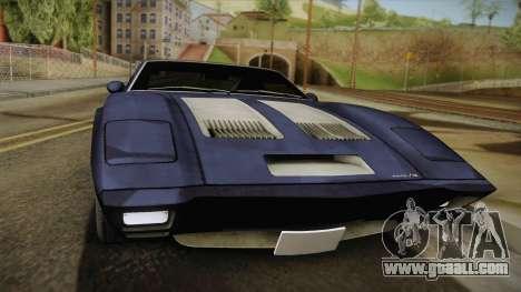 AMC AMX 3 39 1970 for GTA San Andreas back left view