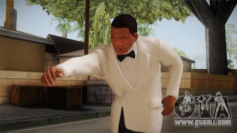 GTA 5 Franklin Tuxedo v1 for GTA San Andreas