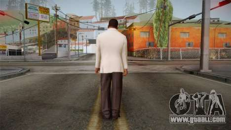 GTA 5 Franklin Tuxedo v1 for GTA San Andreas third screenshot