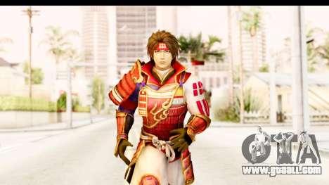 Sengoku Musou 4 - Sanada Yukimura for GTA San Andreas
