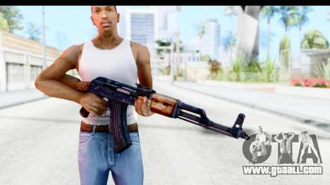 Kalashnikov AKM for GTA San Andreas third screenshot
