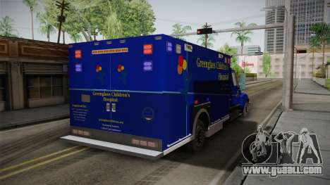 International Terrastar Ambulance 2014 for GTA San Andreas