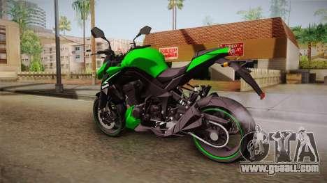 Kawasaki Z1000 for GTA San Andreas left view