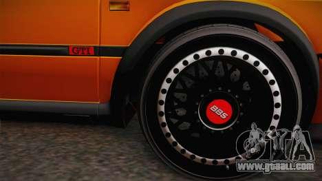 Volkswagen Golf Mk2 GTI .ILchE STYLE. for GTA San Andreas back left view
