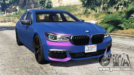 BMW 750i xDrive M Sport (G11) [add-on] for GTA 5