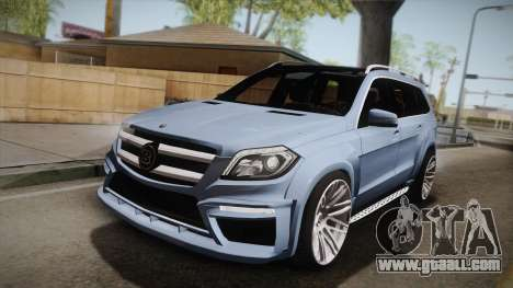 Mercedes-Benz GL63 Brabus for GTA San Andreas