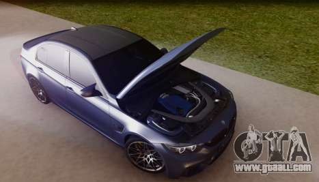 BMW M3 F30 30 Jahre for GTA San Andreas side view