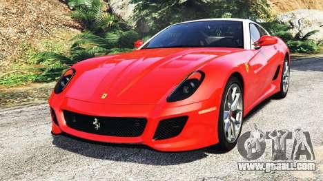 Ferrari 599 GTO [add-on] for GTA 5