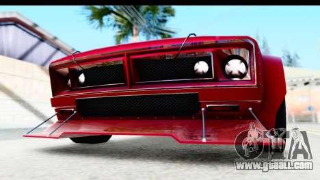GTA 5 Declasse Tampa Drift IVF for GTA San Andreas upper view