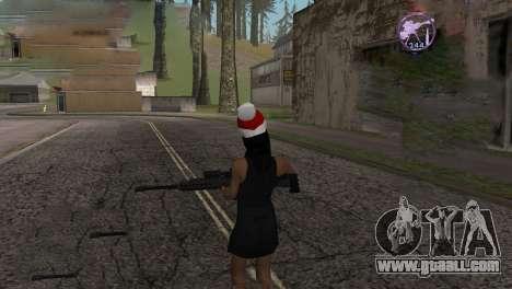 Heavysniper rifle for GTA San Andreas fifth screenshot