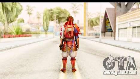 Sengoku Musou 4 - Sanada Yukimura for GTA San Andreas third screenshot