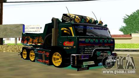 KaMAZ 65115 TURBO SAMOSVAL for GTA San Andreas