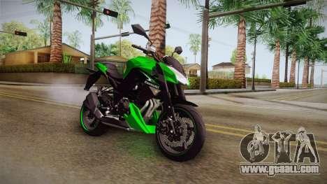 Kawasaki Z1000 for GTA San Andreas right view